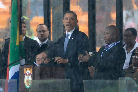 Nelson Mandela memorial sign language interpreter 'was making it up'