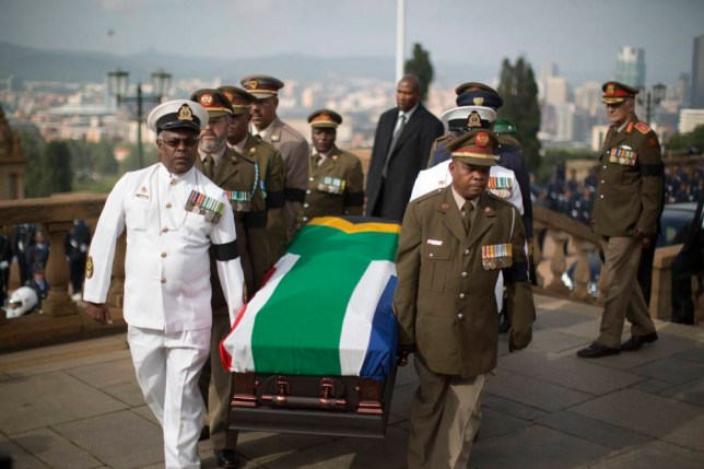 Nelson Mandela funeral: Coffin goes on public display in Pretoria