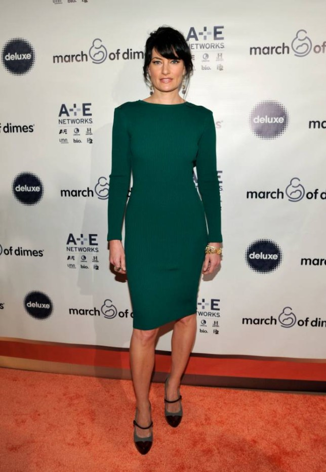 Actress Madchen Amick stars in Witches Of East End (Picture: John Sciulli/Getty Images)