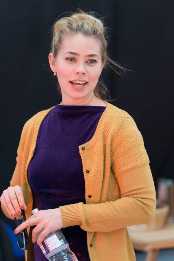 Birgitte Hjort Sorensen in rehearsal for Coriolanus. (Picture: Manuel Harlan)