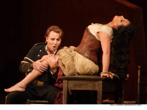 Carmen star Anita exceeds expectations