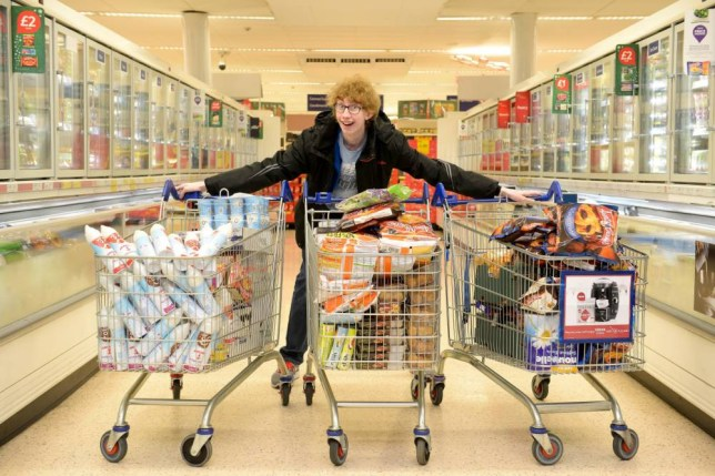Teenager buys £600 of food for just 4p with supermarket coupons - then gives it to families in need
