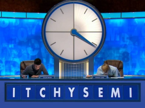 Countdown channels the spirit of Carry On movies with rude-sounding 'itchysemi' conundrum