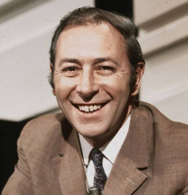 FILE - DECEMBER 21, 2013:  Sports Commentator David Coleman, who worked for the BBC for almost fifty years, has died at the age of 87. 1970:  British sports commentator David Coleman.  (Photo by Victor Drees/Express/Getty Images)