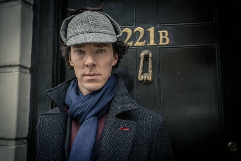 Benedict Cumberbatch returned in the mesmerising Sherlock (Picture: Robert Viglasky)