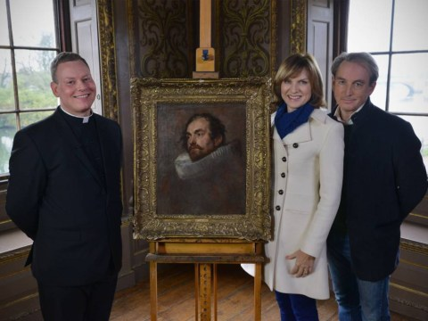 Fiona Bruce uncovers Antiques Roadshow's most valuable painting yet by realising £400 painting is worth £400,000