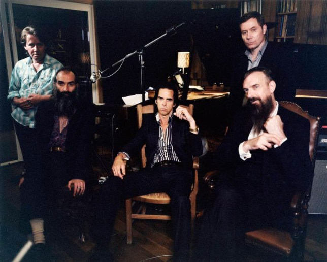Nick Cave And The Bad Seeds (Picture: supplied)