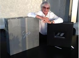 Bernie Ecclestone's gigantic Formula One book goes on sale for £625,000