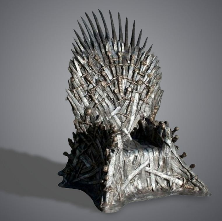 Full-size replica of Iron Throne from Game of Thrones can be yours for just £20,000