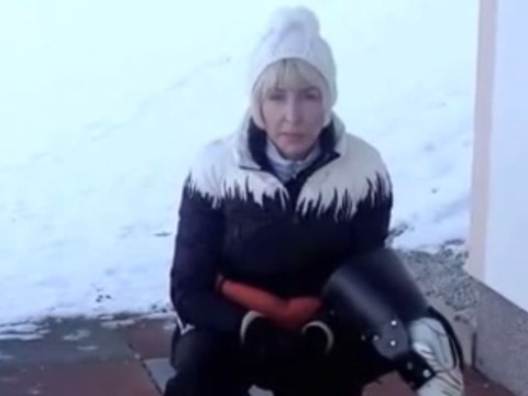 Heather Mills releases video expressing her anger at Paralympic boot row