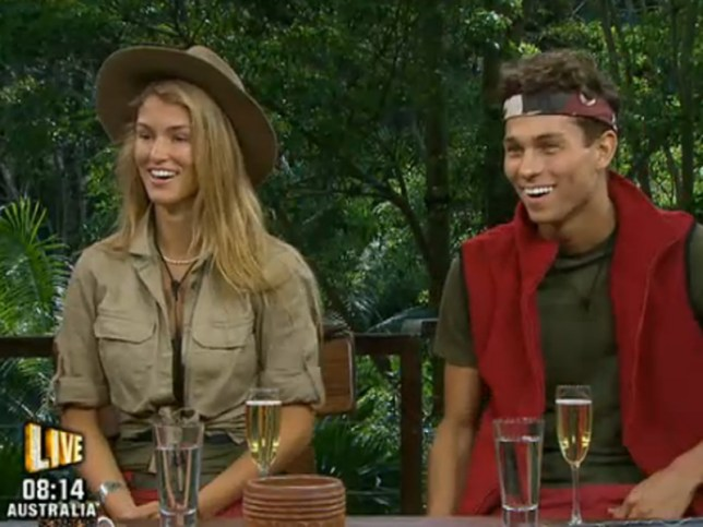 Joey and Amy have left the jungle (Picture: ITV)