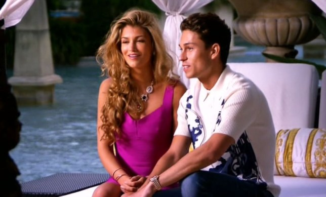 Joey Essex and Amy Willerton at the I'm A Celebrity 2013 wrap party