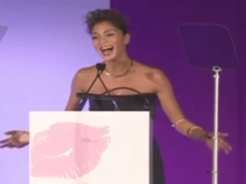 Nicole Scherzinger pays tribute to Nelson Mandela with Cosmo Awards singsong