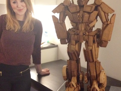 Here's that Optimus Prime made out of gingerbread you wanted