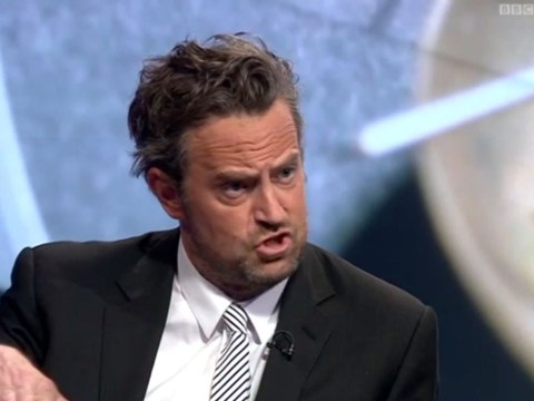 Watch Friends star Matthew Perry debate drug policy on Newsnight