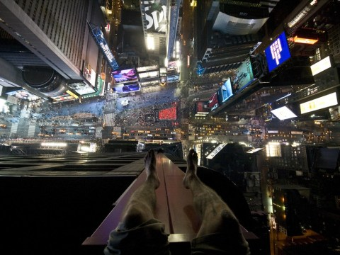 Times Square from above – the most terrifying thing you'll see today