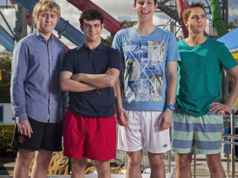 First looks at The Inbetweeners Movie 2 as hapless boys pose for Australian holiday shot