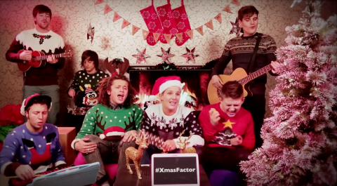 The X Factor 2013: Luke Friend, Sam Bailey and Nicholas McDonald tease lacklustre finale in new Christmas video