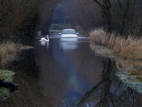 UK weather: Troops deployed to help flood-stricken Somerset