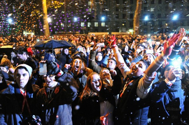 New Year's Eve celebrations: 100 arrested in London as thousands watch spectacular fireworks