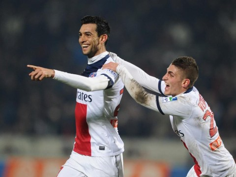 Javier Pastore, Adrien Rabiot and Blaise Matuidi impress David Moyes on Manchester United scouting mission