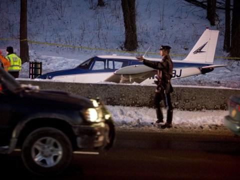 Single-engine plane makes emergency landing on Bronx highway