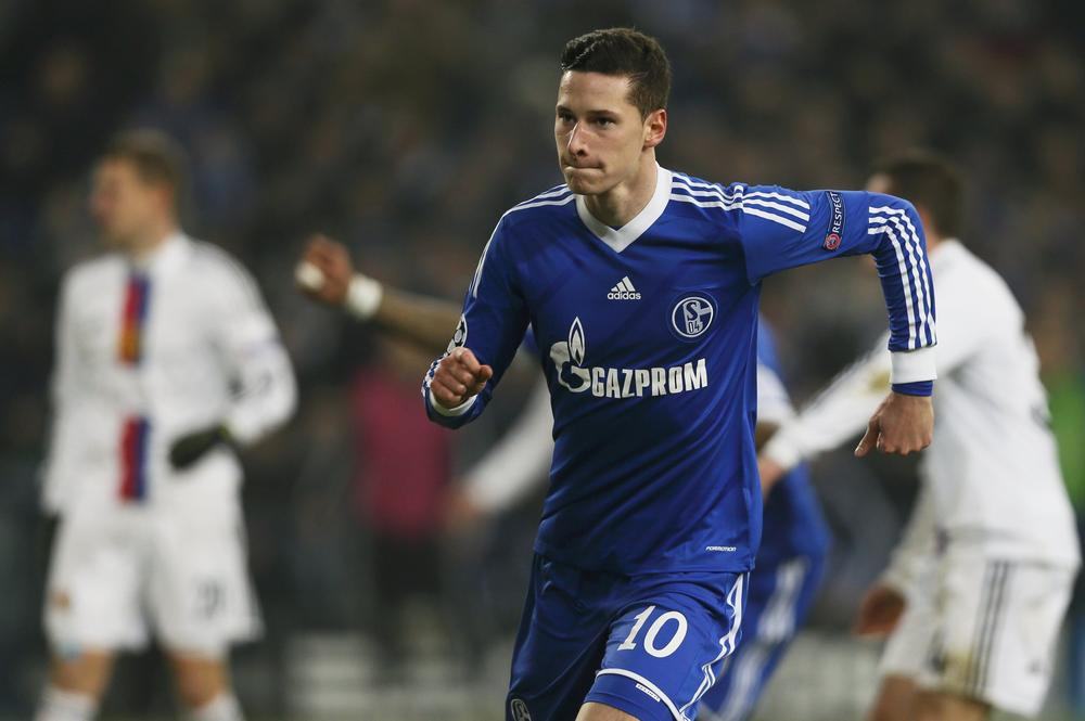 Julian Draxler close to Arsenal transfer as Gunners hold advanced talks with Schalke