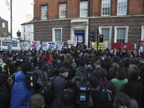 Hundreds of protesters gather at peaceful vigil for Mark Duggan