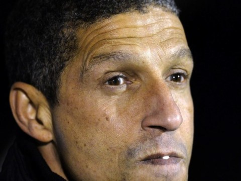 Manager Chris Hughton is told to save Norwich from a fate worse than death