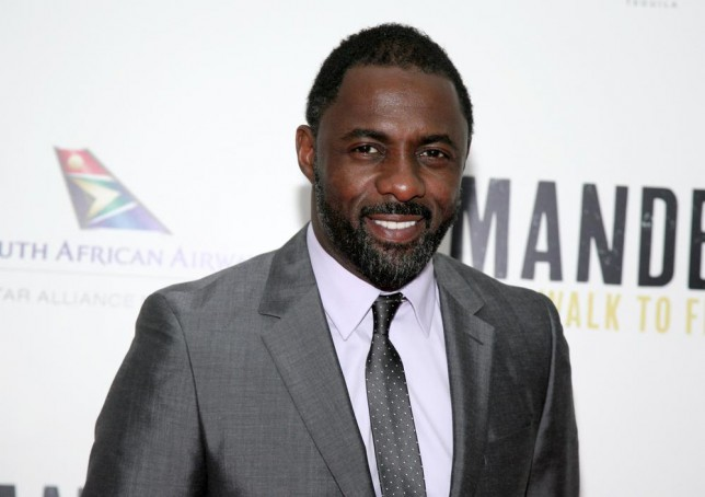 "FILE - This Nov. 14, 2013 file photo shows actor Idris Elba at the New York premiere of ""Mandela: Long Walk To Freedom"" in New York. Elba was nominated for a Golden Globe for best actor in a motion picture drama for his role in the film on Thursday, Dec. 12, 2013. The 71st annual Golden Globes will air on Sunday, Jan. 12. (Photo by Andy Kropa/Invision/AP, File) Andy Kropa/Invision/AP, File"