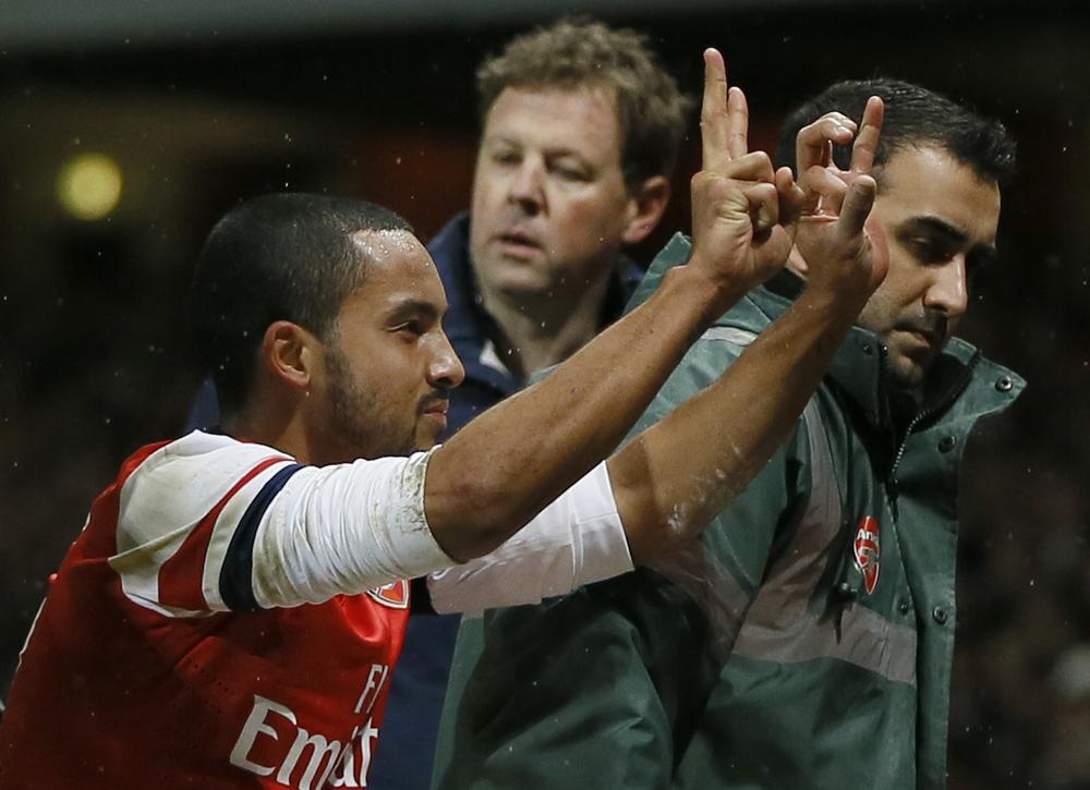 Bad karma, Theo (Picture: AP)