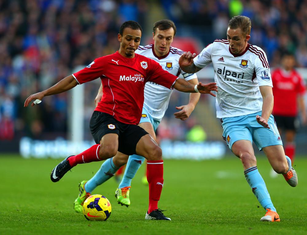 Stoke and Cardiff agree to exchange Peter Odemwingie and Kenwyne Jones