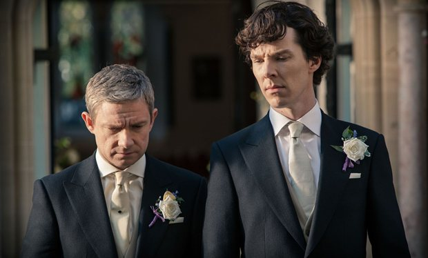 Sherlock season 3, The Sign Of Three: Everything changes on the big day... (Picture: Hartswood Films / BBC)