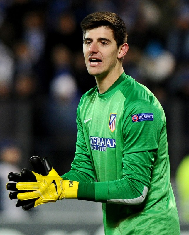 7826e8ee218 FBL-EUR-C1-ATLETICO-ZENIT. Thibaut Courtois is wanted by loan club Atletico  Madrid ...