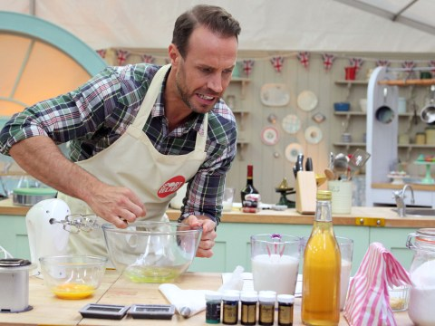 Great Sport Relief Bake Off 2014, episode two: Jason Gardiner recreates the dying swan