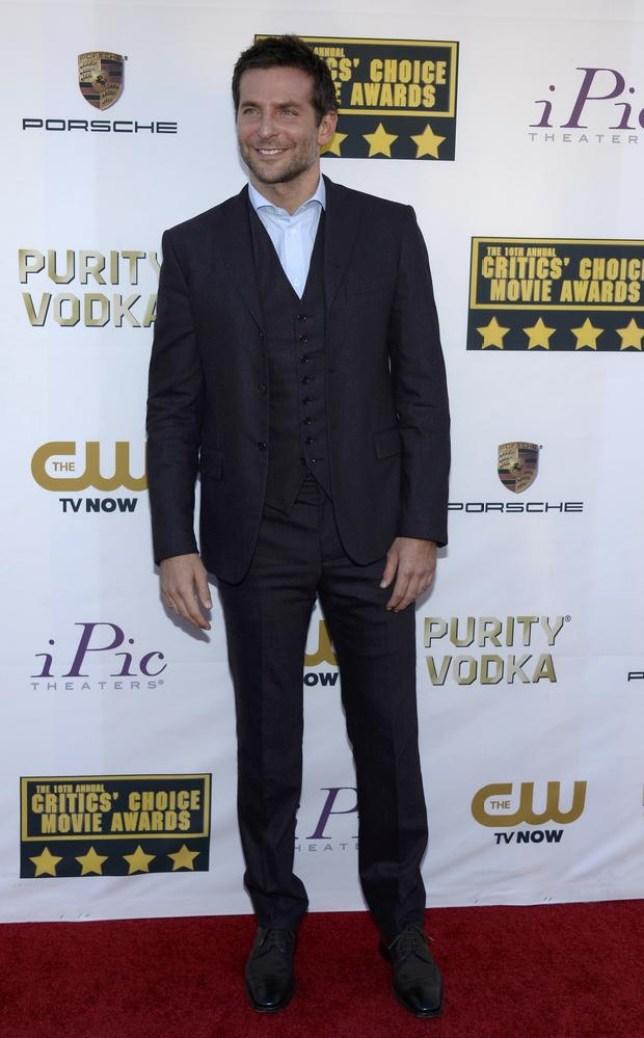 Bradley Cooper in town for the EE Baftas (Picture: Kevork Djansezian/Reuters)