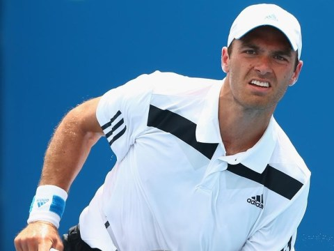 Australian Open 2014: Ross Hutchins wins first match since battling back from his fight against cancer