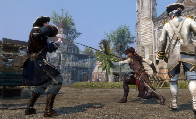 Assassin's Creed: Liberation HD (360) - whipping into action