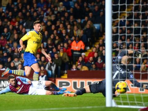 Gallery: Aston Villa v Arsenal – Premier League January 2014