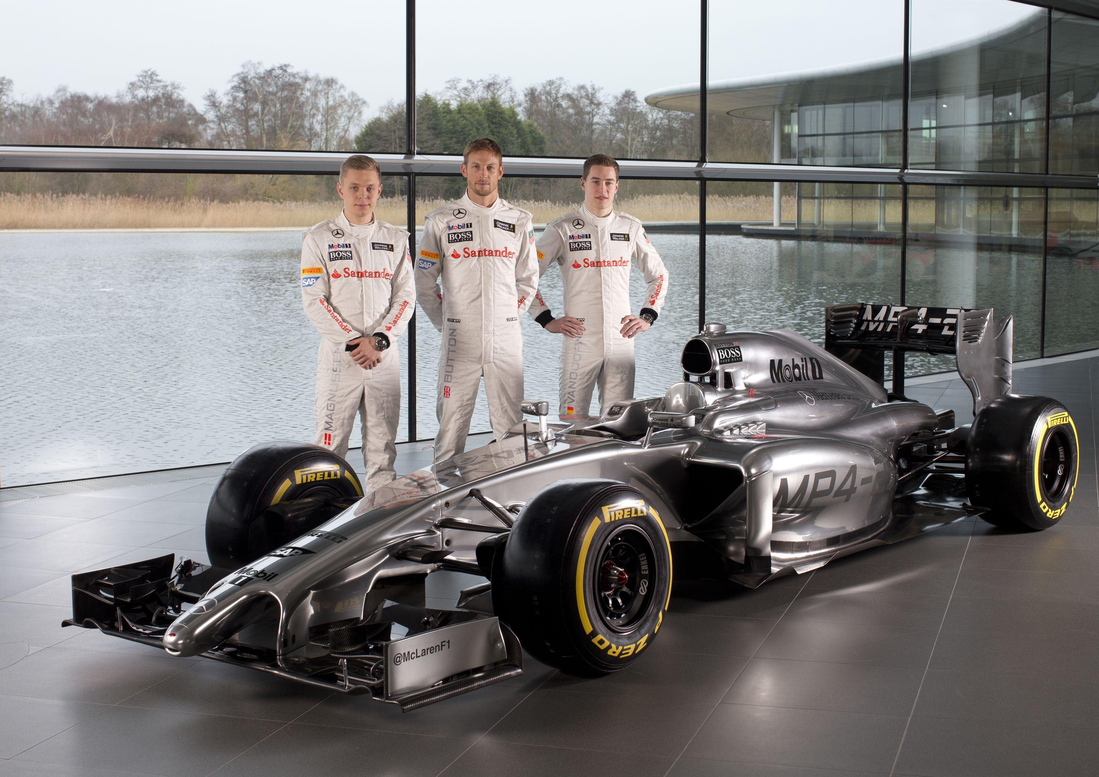 Gallery: Formula One – McLaren MP4-29 Launch 2014