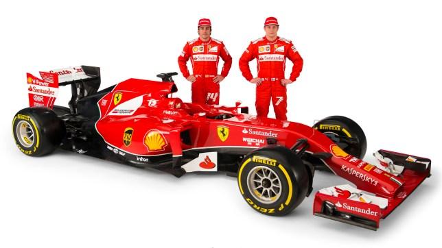 Who will be Ferrari's strongest driver - Fernando Alonso, left, or Kimi Raikkonen? (Picture: Reuters)