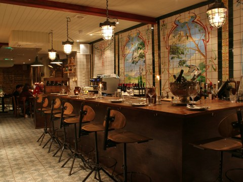 Bistro Blanchette in London has an exciting tombola of dishes that proves hit and miss