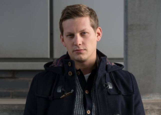 TELEVISION PROGRAMMES: HOLLYOAKS Actor James Sutton who plays John-Paul Mcqueen