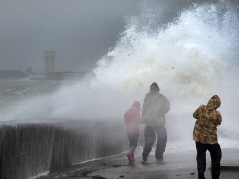 Three dead and 300 lose power in new year storm