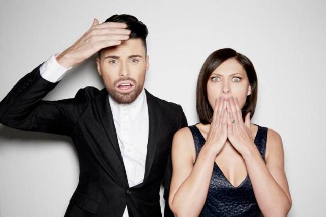 Celebrity Big Brother 2014: Emma Willis and Rylan Clark