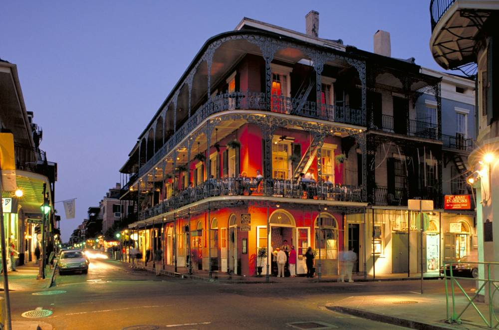 Louisiana New Orleans French Quarter Vieux Carre Bourbon Street at night (Picture: Supplied)