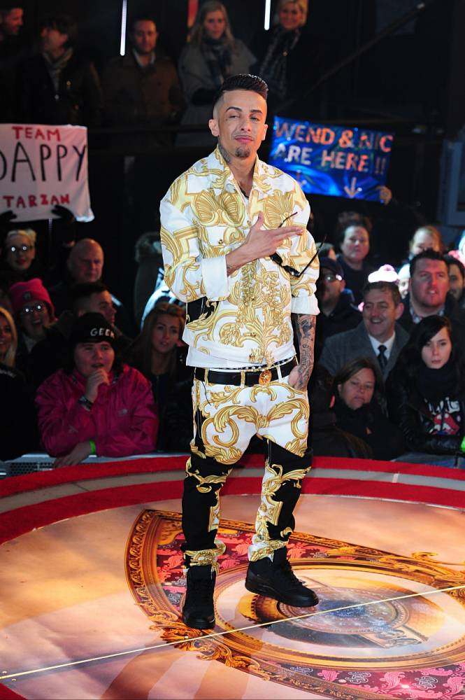 Celebrity Big Brother 2014: Dappy receives third warning over behaviour after 'bent' remark
