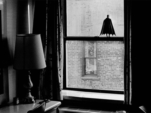 5 photos of tiny Batman as he takes on the world