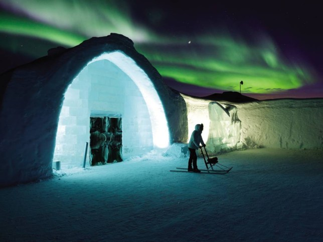 The Northern Lights will entice you into temperatures of -26C (Picture: supplied)