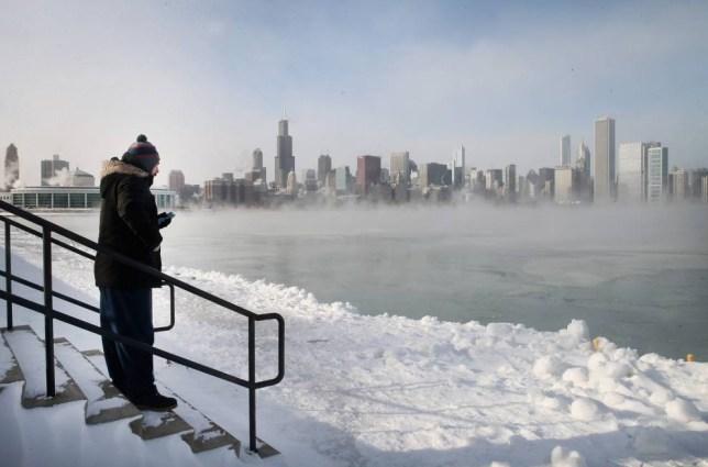 Polar vortex: US deep freeze v The Day After Tomorrow